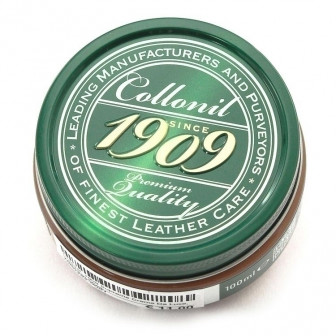 Collonil, 1909 Supreme Crème De Luxe 100 ml, mittelbraun